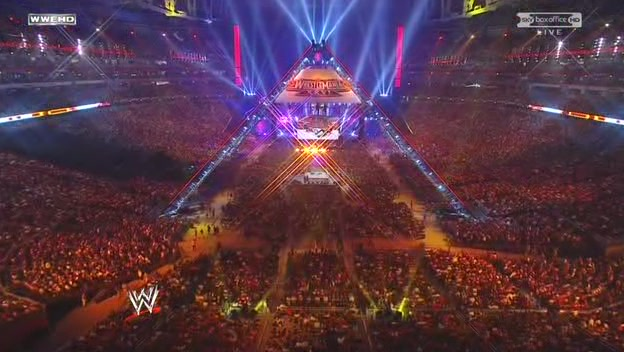 Wrestlemania 26 - Pyramid structure