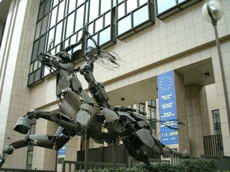 Europa Statue, EU Headquarters